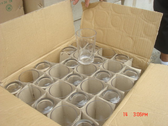 Egg crated packing